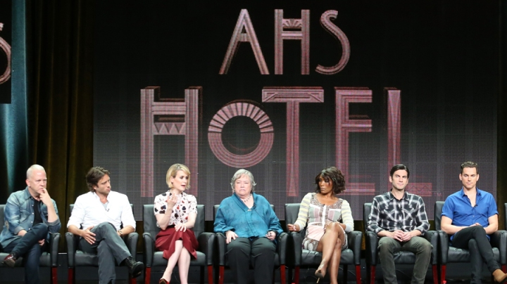(American Horror Story press tour)