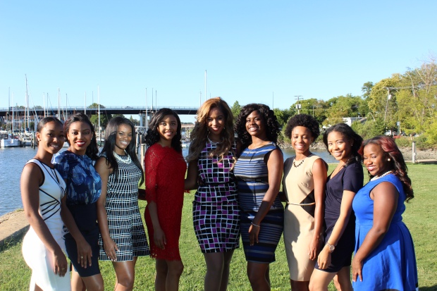 (Miss Hampton contestants photo: huscript staff)