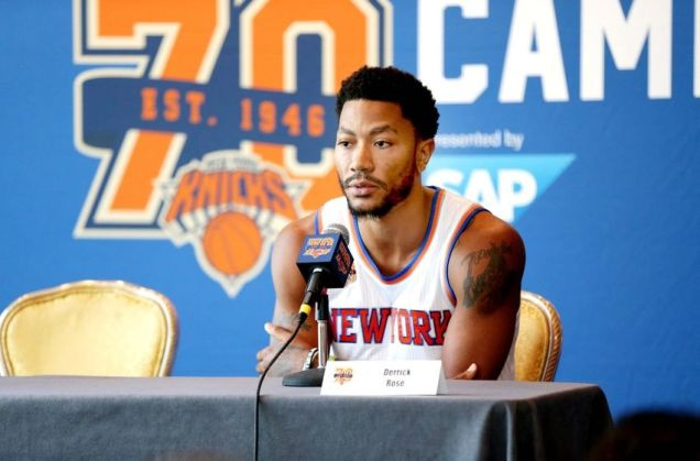Coming into the new NBA Season, Rose's trial still hangs over his head. (Associated Press)