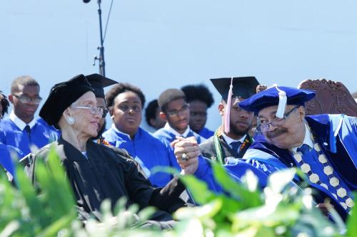 Katherine Johnson at Hampton