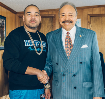 DJ Envy and Harvey