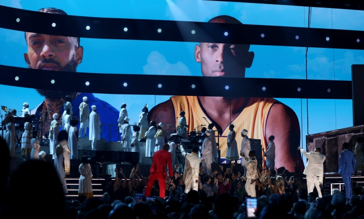 YG, John Legend, Kirk Franklin, DJ Khaled, Meek Mill